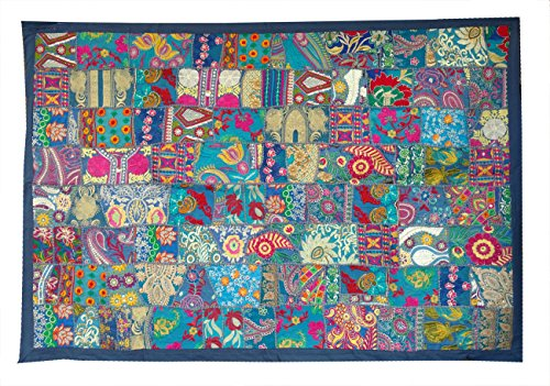 Rastogi    Embroidered Patchwork Old Hanging Wall Art  Tapestry