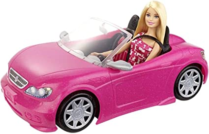 Doll Accessories Barbie Glam Convertible