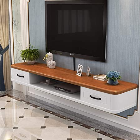 Moderno e Minimalista, Camera Wall Hanging TV Cabinet