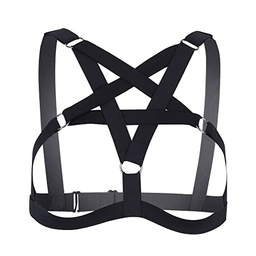 55ff0a0fbf1 TiaoBug Women s Sexy Lingerie Elastic Criss Cross Strappy Hollow Out  Cupless Cage Bra Body Chest Harness