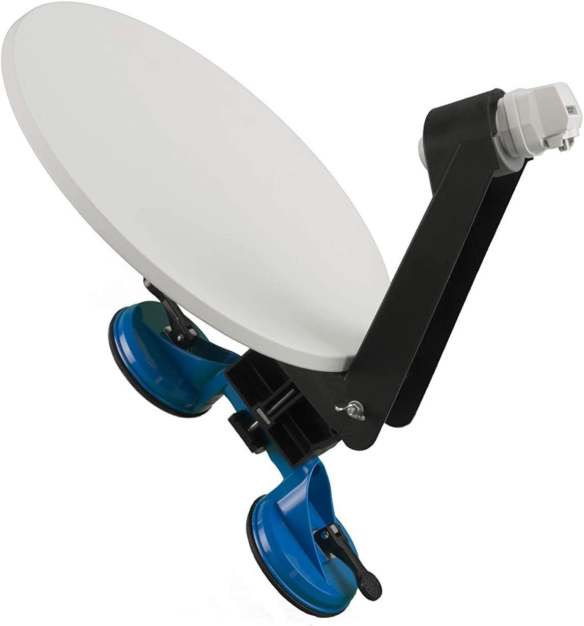 Visio 40 - Antena satélite Manual portátil con fijación de ...
