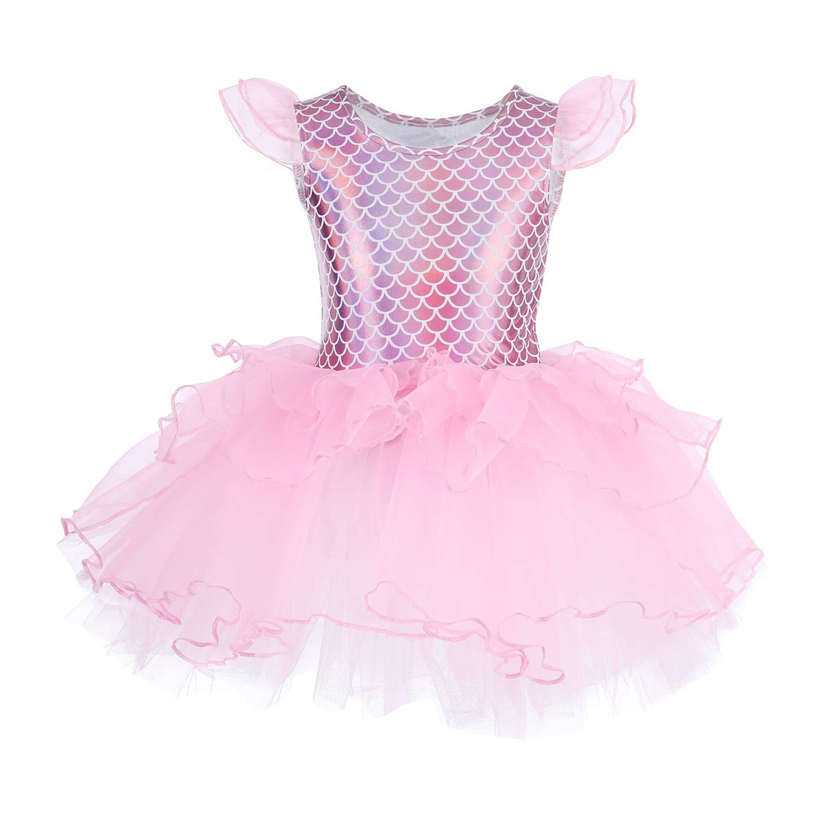 a13d9c588b IWEMEK Girls Ballet Dance Dress Gymnastics Tutu Skirted Costume Dancewear:  Amazon.ca: Clothing & Accessories
