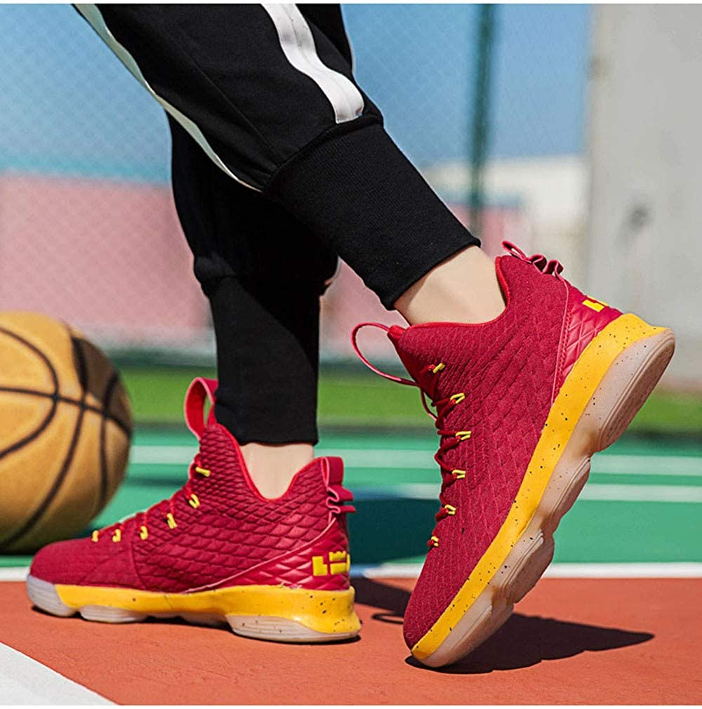 IDNG Basketballschuhe Herren High-Top-Basketball-Schuhe Frau Turnschuhe Turnschuhe Turnschuhe Stoßfest Athletisch Outdoor-Schuhe 58aff1