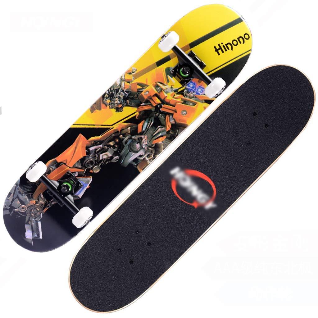 超人気新品 DUWEN スケートボードの十代の若者たちプロ四輪スケートボード子供大人男性と女性ダブルロッカースケートボードメープルスクーター D (色 DUWEN : A) B07PPDSNTK (色 D D, 激安タイヤとホイールのAUTOMAX:b49ab503 --- quiltersinfo.yarnslave.com