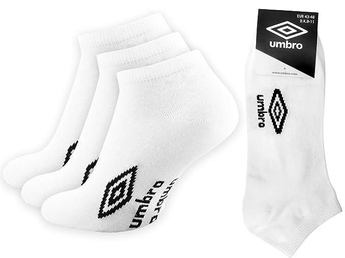 Umbro - Calcetines de deporte - para hombre Weiß 39-42