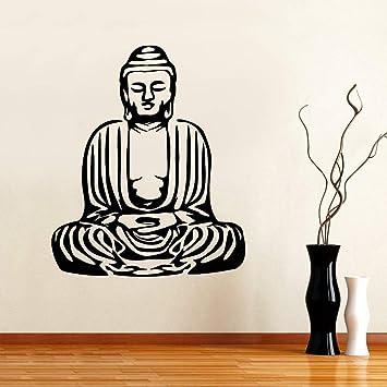 BFMBCH Buda Yoga Etiqueta de la pared Sala de estar Gráfico ...