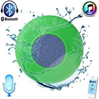 Sudroid Waterproof Wireless Mini Shower Speaker with Built-in Mic Green