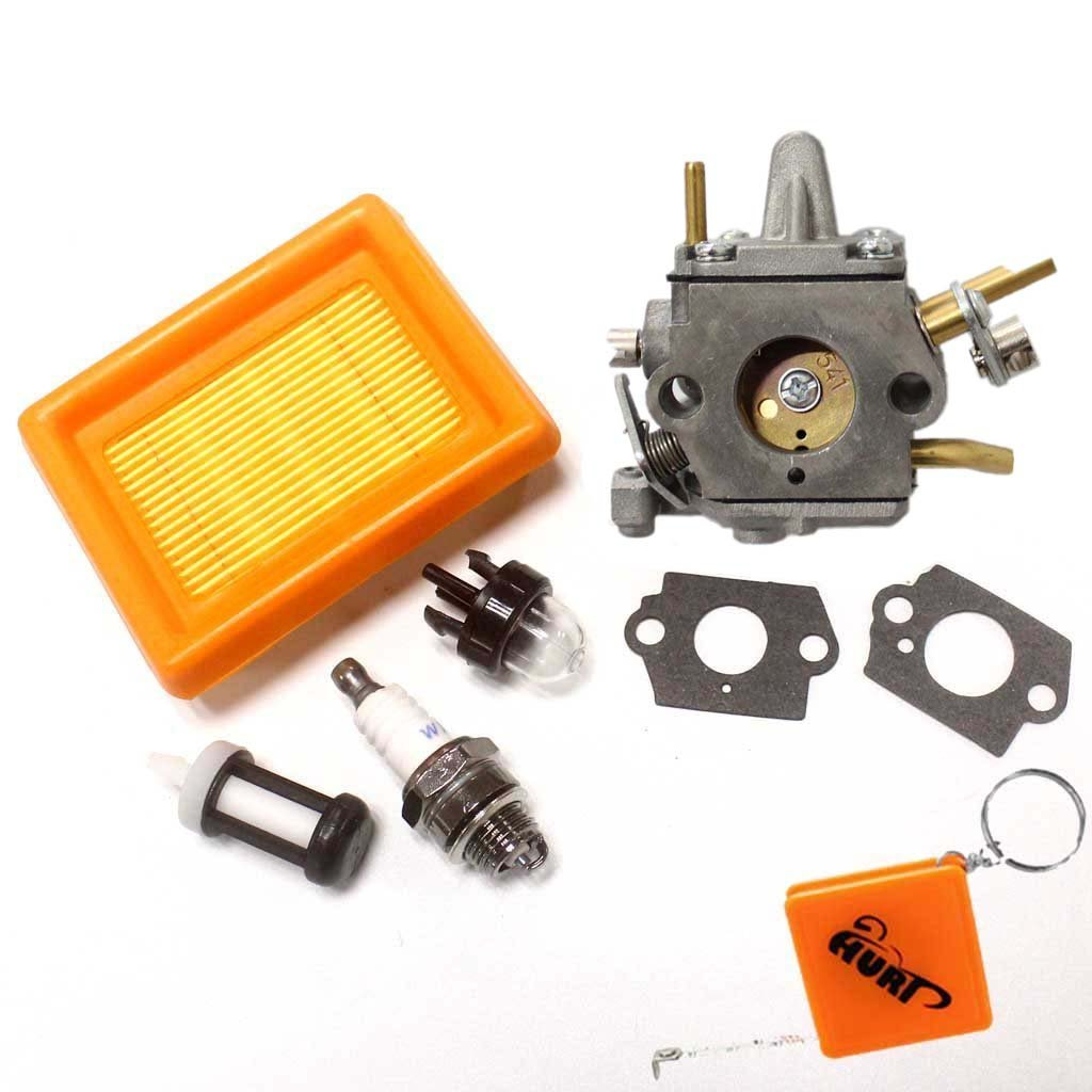 Huri carburador + filtro de aire + bujía para Stihl FS400 ...
