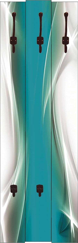 Artland Qualitätsspiegel I Spiegel Spiegel Spiegel Wandspiegel Deko Rahmen mit Motiv 50 x 140 cm Abstrakte Motive Gegenstandslos Digitale Kunst Türkis G5RR Kreatives Element Petrol für Ihr Art-Design 39549e