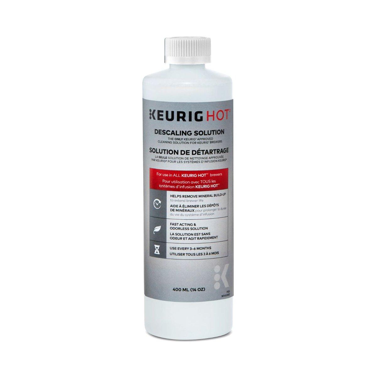 Keurig 14 Ounce Descaling Solution, Set of 4