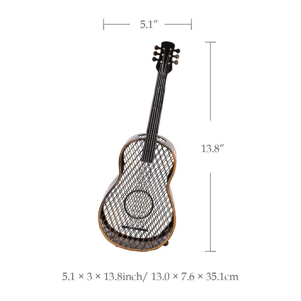 CUNQIKUN Contenedor De Corcho De Vino De La Guitarra Artesanía ...