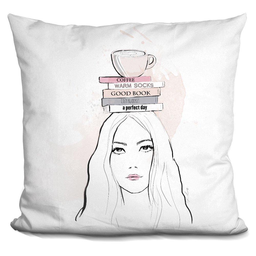 LiLiPi Books Decorative Accent Throw Pillow