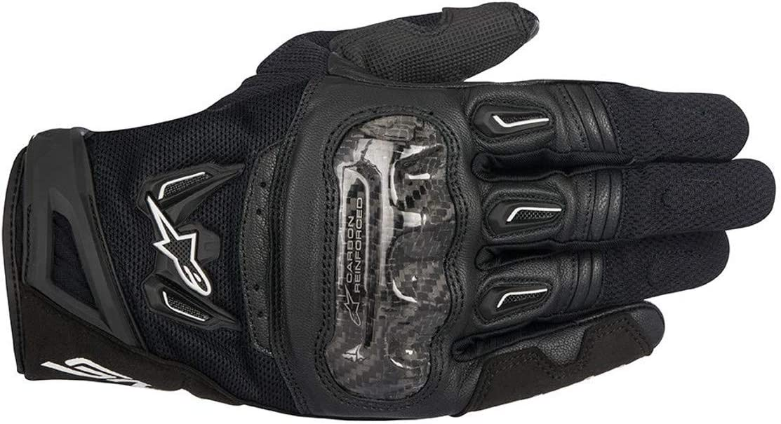 Alpinestars 1694350103 Motorcycle Gloves SMX-2 Air Carbon V2 Black-L