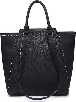 Hobo Women Dot Stripe Tote Handbag Shoulder Love Present Travel Shopping Bag