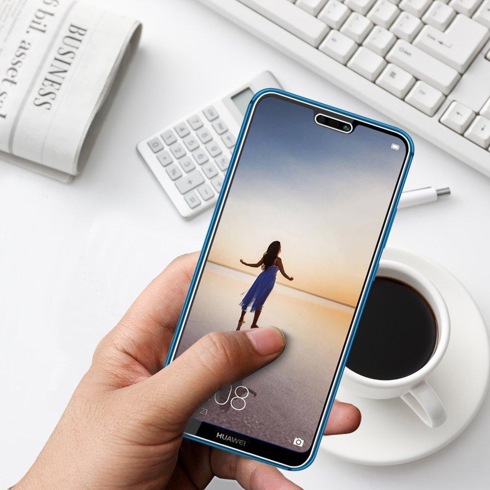 ANEWSIR 3X Protector de Pantalla para Huawei p20 Lite, Cristal Vidrio Templado Premium para Huawei p20 Lite 9H Dureza Alta Definicion Ultra-Transparente, ...