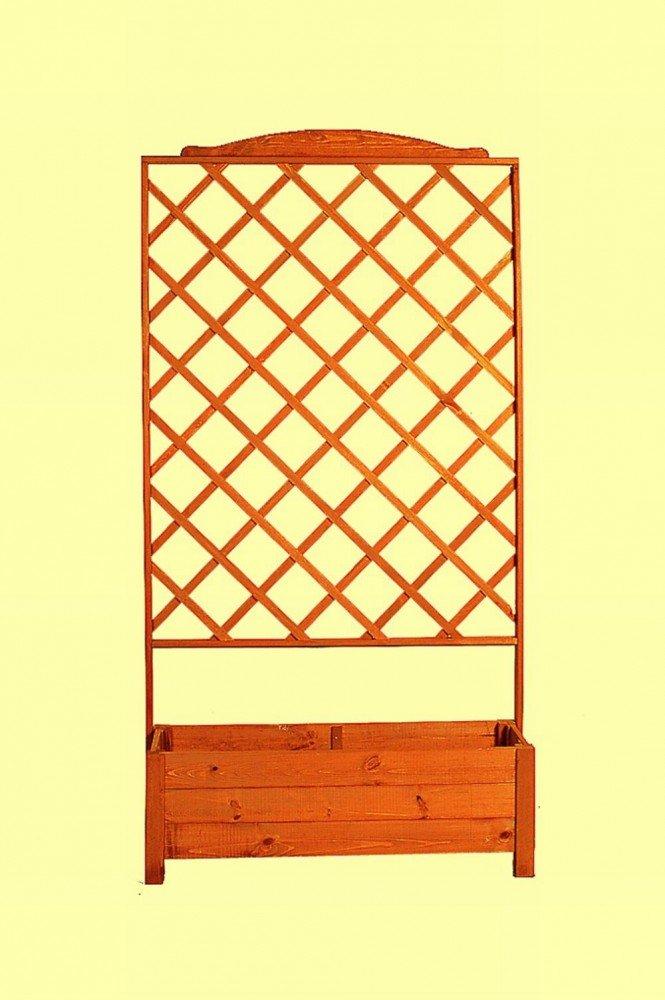 Holz-Rankkasten Botanica H 209 x B 110 x T 32 cm Kiefernholz imprägniert