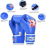Xnature 4oz 6oz 8oz PU Kids Boxing Gloves w/Gift