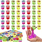 ChefSlime Eye Slime Cool Putty - Non Sticky, Stress & Anxiety Relief, Wet, Super Soft Sludge Toy with an Eye Ball inside - party favor for Kids and Adults -   JUMBO PACK of 48 PCS