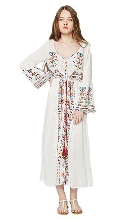 Long Sleeve Flowy Maxi Dresses