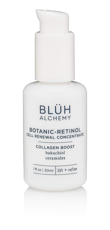 Blüh Alchemy - Organic Botanic-Retinol Cell Renewal Concentrate   Collagen Boost With Bakuchiol & Ceramides (1 fl oz   30 ml)