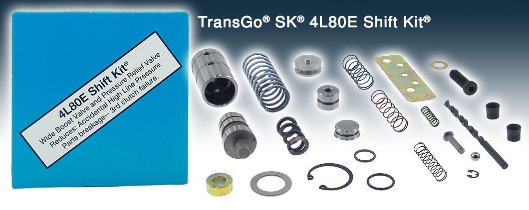 Transmission kit 4L80E, 4L85E, 91-08. General Motors by Transgo