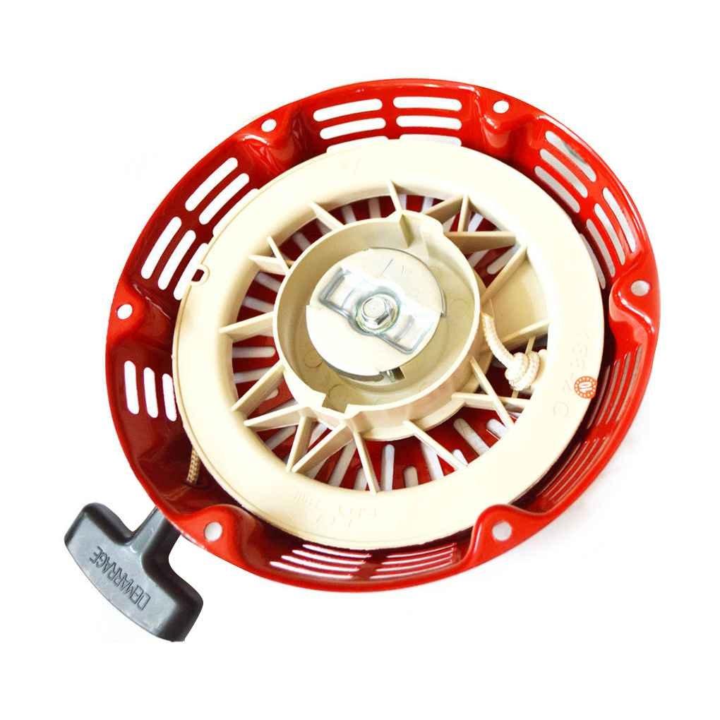 fgyhty Comienzo del tir/ón de la Cubierta de Retroceso Rojo Encaja Las Piezas de Repuesto Honda GX340 GX390 11HP 13HP de Retroceso de la Cubierta Tire de Arranque de Retroceso