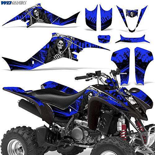 Suzuki LTZ400 2003-2008 Graphic Kit ATV Quad Decals Sticker Wrap LTZ 400 REAPER BLUE