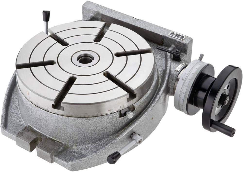Grizzly Industrial G9293-10 Horizontal Vertical Rotary Table