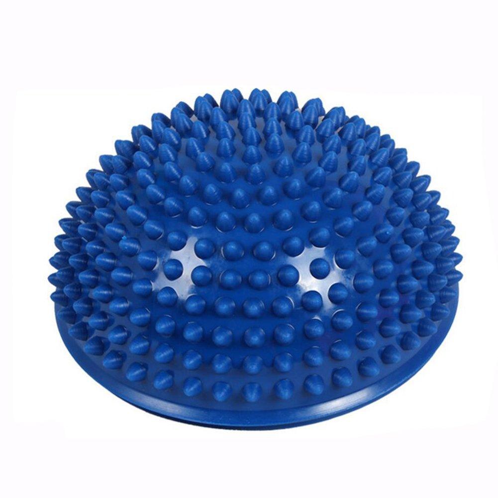 HBOS Semi-circular Massage Yoga Ball Durian Ball Children's Early Education Sensory Training Device Balance Pad Thickening