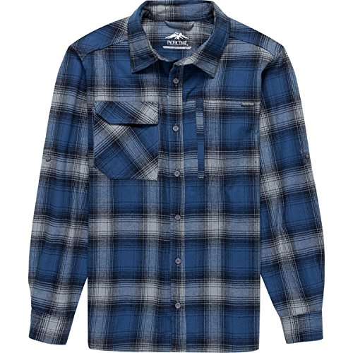Shirt Brawny Flannel - Pacific Trail Vented Brawny Flannel Shirt - Men's Blue, XL