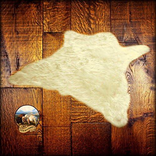 Best living room rug: Plush Faux Fur Shaggy Shag
