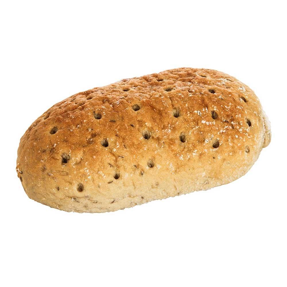 Labrea Bakery Seeded Rye Bread Loaf, 20 Ounce -- 12 per case.