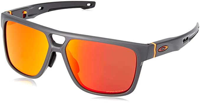 a0c5e8f7db Amazon.com  Oakley Men s Crossrange Patch Asian Fit Sunglasses