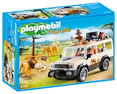 Cheapest Price! PLAYMOBIL Safari Truck with Lions