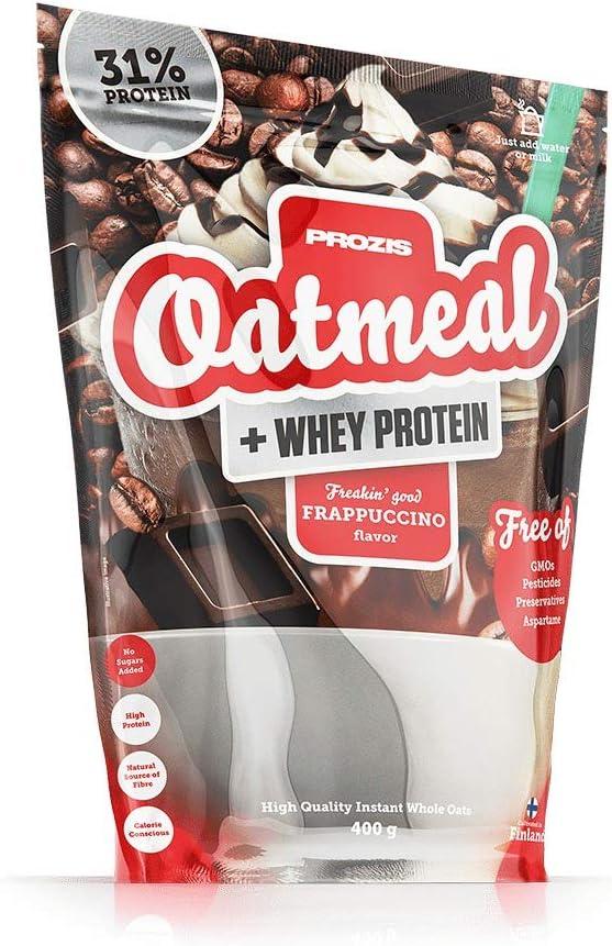 Prozis Oatmeal y Proteína de leche, Frappuccino - 400 gr: Amazon ...