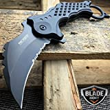 Best NEW Karambit Knives - New TAC-FORCE RESCUE Assisted Open Black TACTICAL KARAMBIT Review