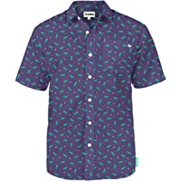Tipsy Elves Men's Mardi Gras Hawaiian Shirts - Mardi Gras Button Up Shirts