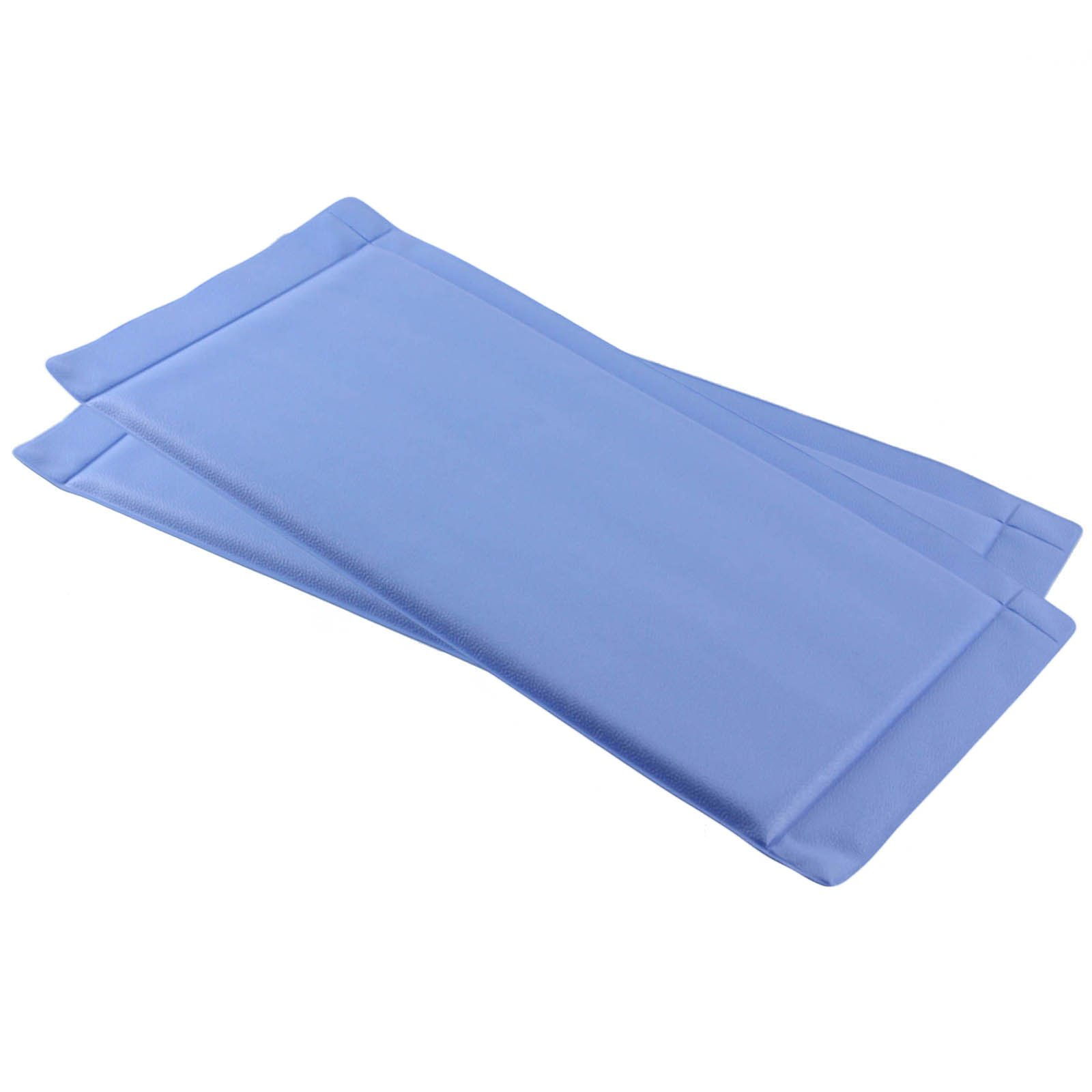 Spares2go Defrost Fridge Freezer Mat Durable Anti-Frost Pad - Prevents Frost & Ice Build up (Pack of 2)