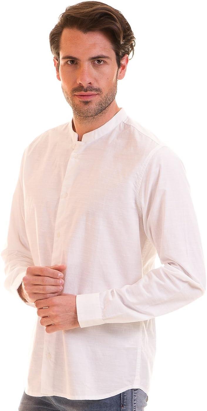 CASUAL FRIDAY Camisa Blanca Hombre (XXL - Blanco): Amazon.es: Ropa y accesorios