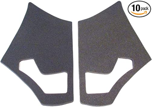 J&M Fairing/Speaker Acoustic Pads 1998-2013 Harley RoadGlide Fairing # FSAP-HDRG