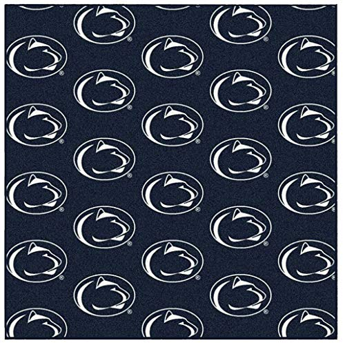 - Ambient Rugs NCAA My Team College Repeating Rug Penn State - 10' Square