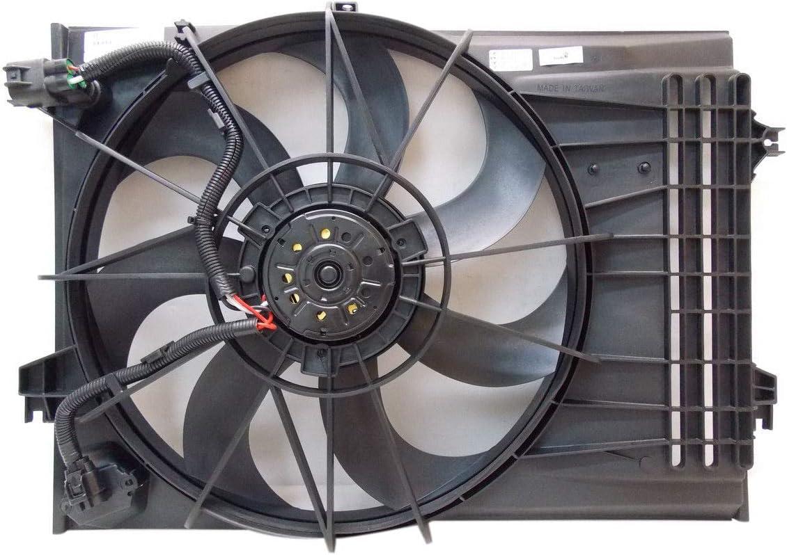 Radiator And Condenser Fan For Hyundai Tucson Kia Sportage KI3115116