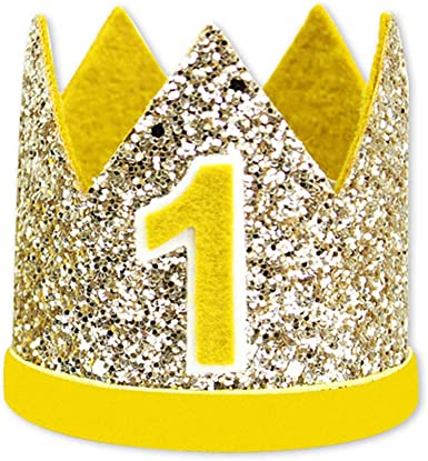 1Pc Crown Baby Hat Photography Props Baby Birthday Crown Hats Cap Party Decor ZB