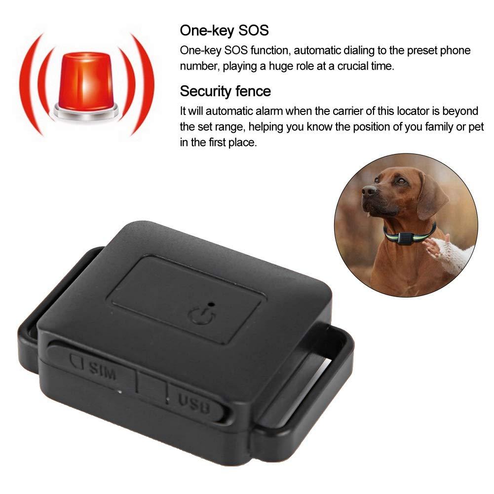 Pet Gps en Tiempo Real, Mini Localizador de Rastreo GPS, GPS ...