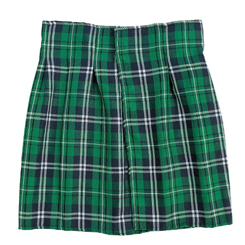 FE Green Plaid Costume Kilt