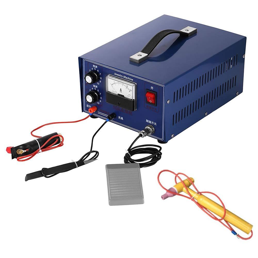HUKOER 400W Mini soldador de puntos Joyería de plata y oro Soldadora láser con herramienta de mango: Amazon.es: Bricolaje y herramientas