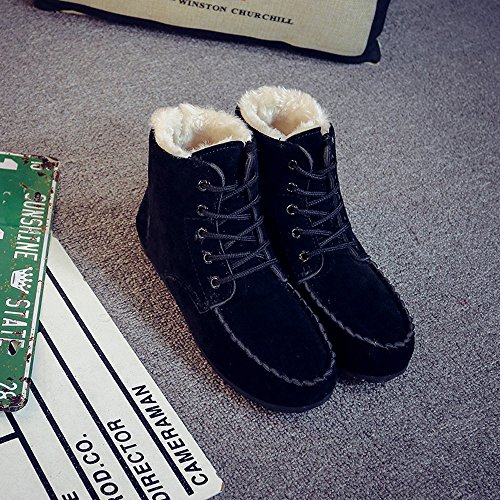 Black Short Boots Winter Shoes Women Snow TM Boots DEESEE Warm Classic xOAwBvvq