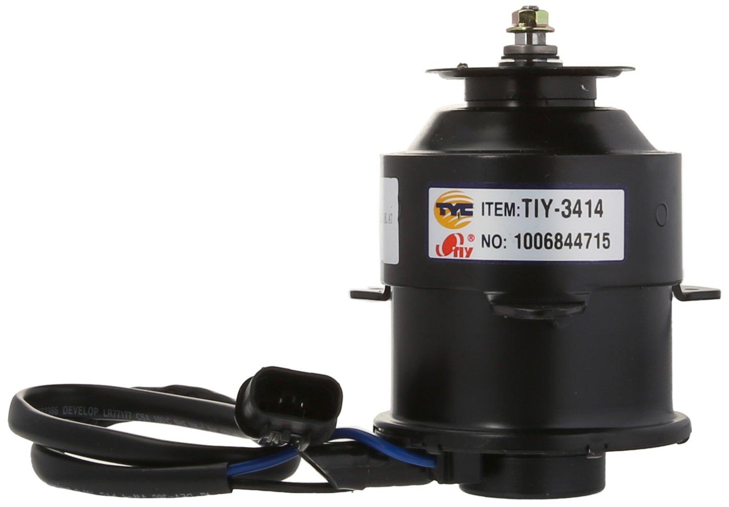 TYC 631180 Mitsubishi Mirage Replacement Radiator Cooling Fan Motor