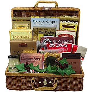 Food gift baskets prime cheese and nuts do it yourselfore art of appreciation gift baskets bounty of flavor gourmet food picnic hamper chocolate solutioingenieria Images