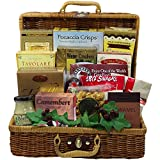 Art of Appreciation Gift Baskets Bounty of Flavor Gourmet Food Picnic Hamper (Chocolate)